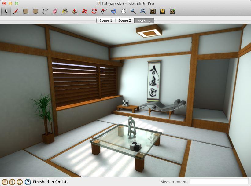 Sketchup Interior Lighting